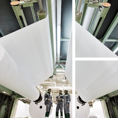 Manufacturing paper